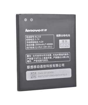 2000mAh Lenovo BL210 Replacement Battery For Lenovo A606