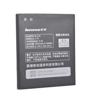 2000mAh Lenovo BL210 Replacement Battery For Lenovo A606