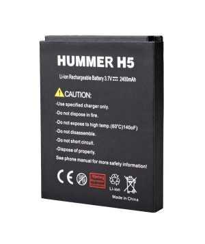 Original 2400mAh Battery For HUMMER H5 Smartphone