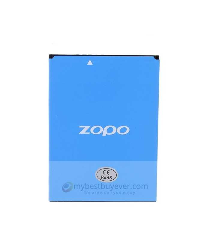 Original 2400mAh Battery For ZOPO ZP998 Smartphone