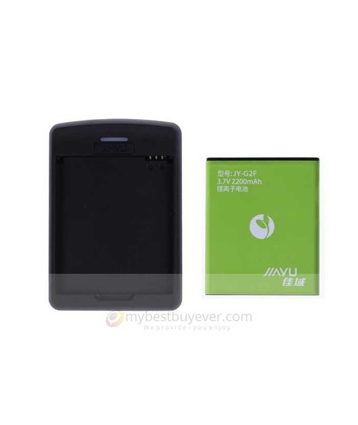 Original 2200mAh Replacement Battery + Deck Charger For JIAYU G2F