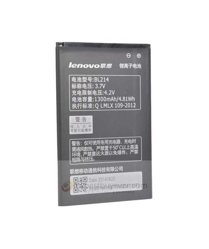1300mAh Lenovo BL214 Replacement Battery For Lenovo A316