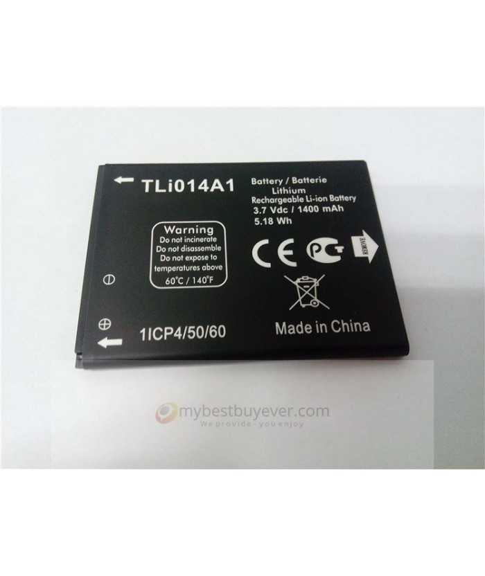 Alcatel ONE Touch TLi014A1 1400mAh Battery