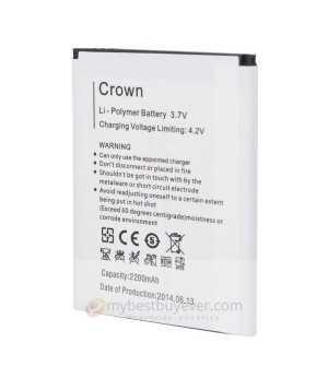 Original 2200mAh Battery For Blackview Crown Smartphone