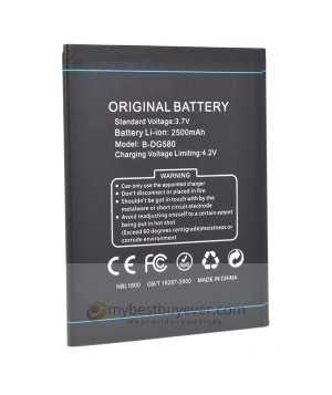 Original 2500mAh Battery For DOOGEE DG580 Smartphone
