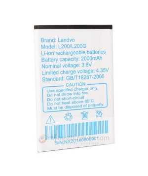 Original 2000mAh Replacement Battery For LANDVO L200 L200G