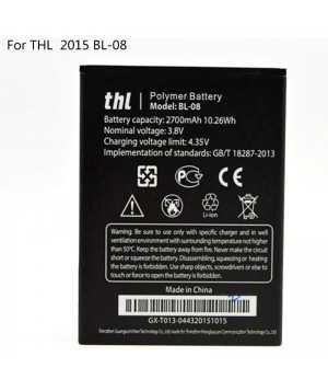 Original THL 2015 BL-08 2700mAh Battery