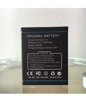 Original 2000mAh Battery For DOOGEE IRON BONE DG750