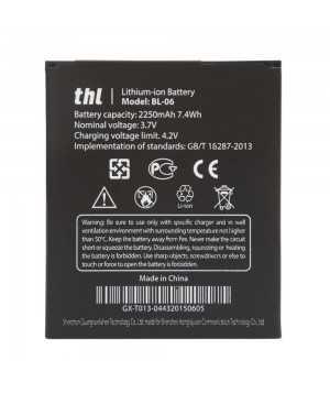 Αυθεντική Μπαταρία Thl T6 T6S T6 pro 2650mAh BL-06 BL06 Batteria