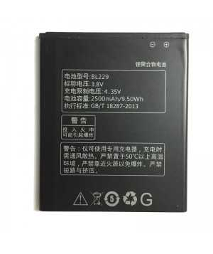Original Lenovo BL229 2500mAh Battery For Lenovo A8 A806 A808T