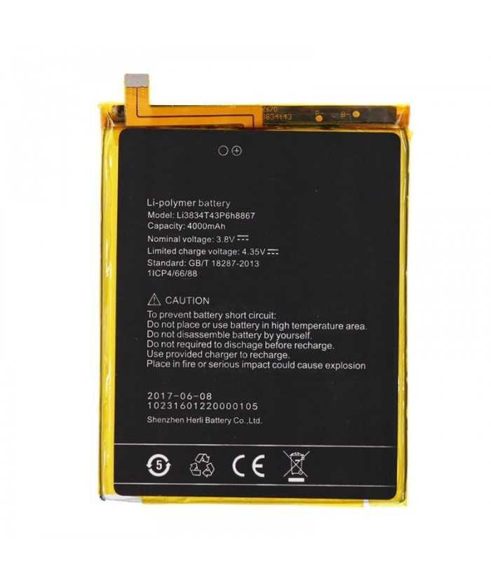 Μπαταρία Li3834T43P6H8867 για UMI Super 4000mAh