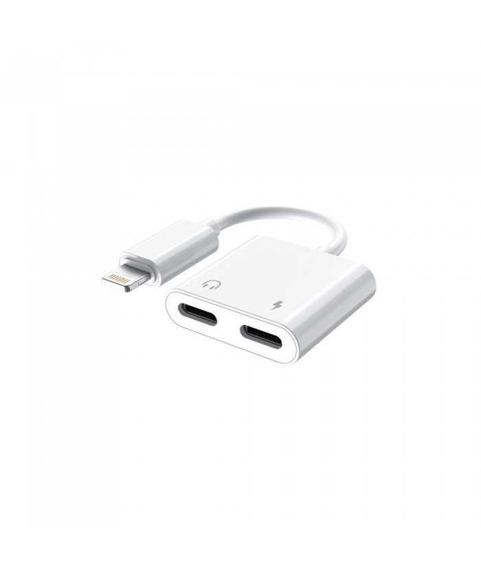 Μετατροπέας από Lightning σε 2 x Lightning για Apple Προιόντα