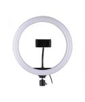 Ring Light Τριών Χρωμάτων 26cm 20w για Smartphone