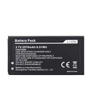 Original 2570mAh Battery For MANN ZUG S Smartphone