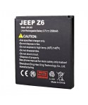 Original 2500mAh Battery For JEEP Z6 Smartphone
