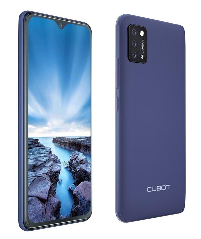 "CUBOT Smartphone J8, 5.5"", 2/16GB, Quad-Core, Android 10 Go, μπλε"